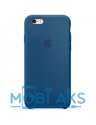 Чехол Silicone case для iPhone 5 / 5S / SE Mist Blue
