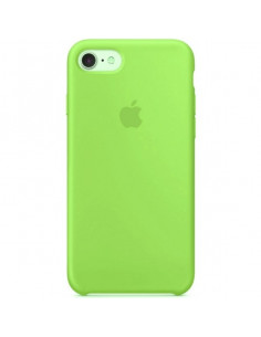 Чехол Silicone case для iPhone 7/8 Green