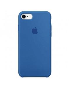 Чехол Silicone case для iPhone 7/8 Blue