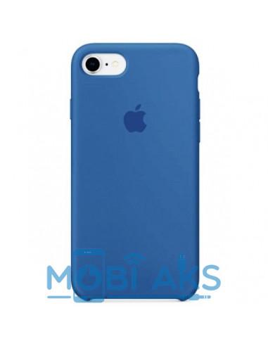 Чехол Silicone case для iPhone 7 / 8 Blue