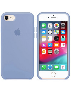 Чехол Silicone case для iPhone 7/8 Lilac Cream