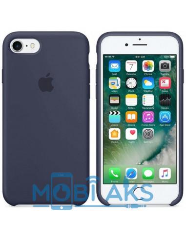 Чехол Silicone case для iPhone 7 / 8 Midnight Blue