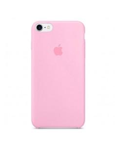 Чехол Silicone case (силикон кейс) для iPhone 7/8 Pink
