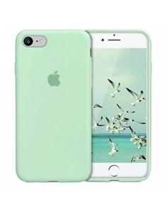 Чехол Silicone case для iPhone 7/8 Mint