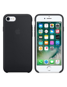 Чехол Silicone case (силикон кейс) для iPhone 7/8 Blsck