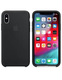 Чехол Silicone case (силикон кейс) iPhone X/XS Black