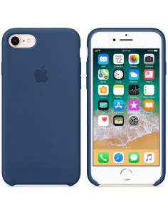Чехол Silicone case для iPhone 7 / 8 Blue Cobalt
