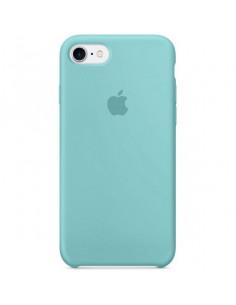Чехол Silicone case для iPhone 7/8 Sea Blue
