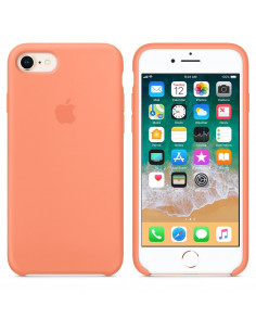 Чехол Silicone case (силикон кейс) для iPhone 7/8 Peach