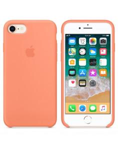 Чехол Silicone case (силикон кейс) для iPhone 7 / 8 Peach