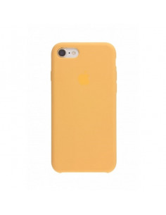 Чехол Silicone case (силикон кейс) для iPhone 7/8 Gold