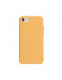 Чехол Silicone case (силикон кейс) для iPhone 7 / 8 Gold