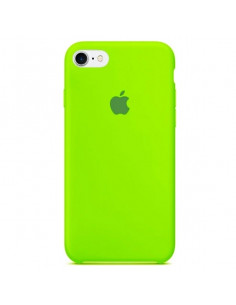 Чехол Silicone case для iPhone 7/8 Lime Green