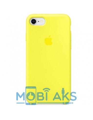 Чехол Silicone case для iPhone 7 / 8 Flash