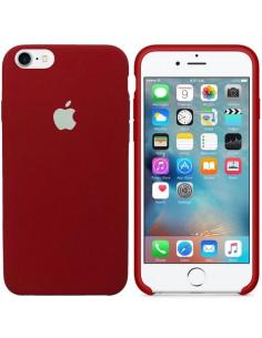 Чехол Silicone case для iPhone 7/8 Camelia White