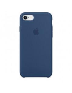 Чехол Silicone case для iPhone 7/8 Mist Blue