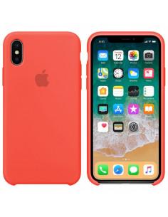Чехол Silicone case (силикон кейс) iPhone X/XS Coral