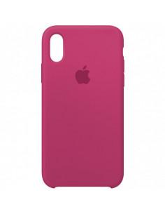Чехол Silicone case (силикон кейс) iPhone X/XS Dragon Fruit