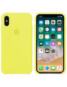 Чехол Silicone case (силикон кейс) iPhone X/XS Flash