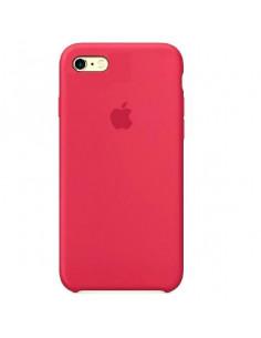Чехол Silicone case для iPhone 7 / 8 Rose Red