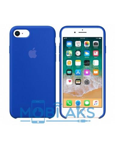 Чехол Silicone case для iPhone 7 / 8 Ultra Blue