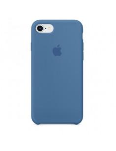 Чехол Silicone case для iPhone 7/8 Denim Blue