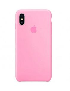 Чехол Silicone case (силикон кейс) iPhone X/XS Light Pink