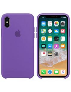Чехол Silicone case (силикон кейс) iPhone X/XS Liac