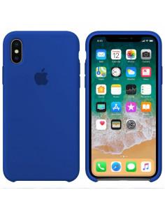 Чехол Silicone case (силикон кейс) iPhone X/XS Ultra Blue