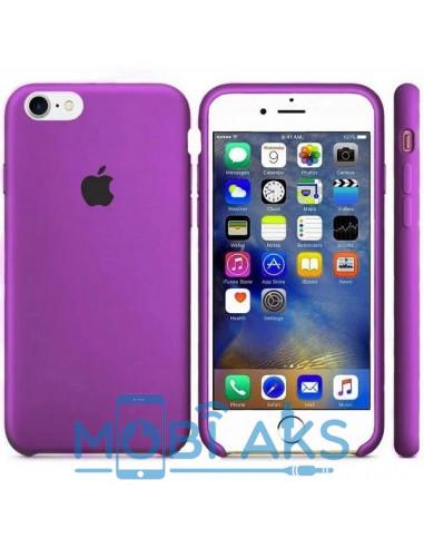 Чехол Silicone case для iPhone 7 / 8 Purple