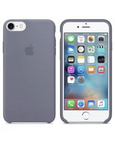 Чехол Silicone case для iPhone 7/8 Lavander Gray