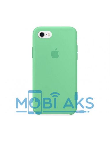 Чехол Silicone case для iPhone 7 / 8 Spearmint