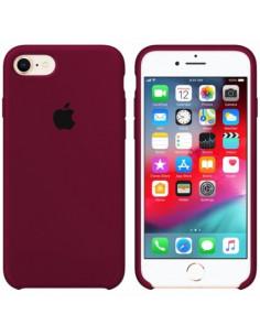Чехол Silicone case для iPhone 7/8 Marsala