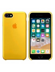 Чехол Silicone case для iPhone 7/8 Сanary Yellow