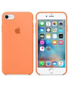 Чехол Silicone case для iPhone 7 / 8 Papaya