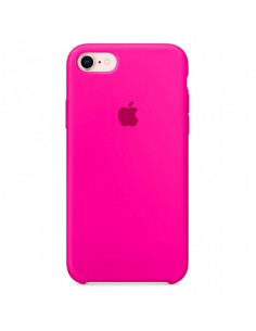 Чехол Silicone case для iPhone 7/8 Hot Pink