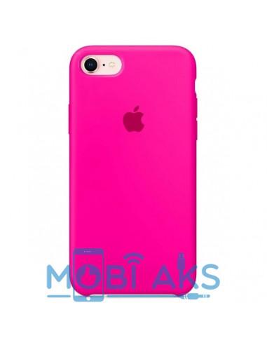 Чехол Silicone case для iPhone 7 / 8 Hot Pink