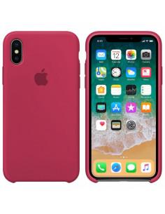 Чехол Silicone case (силикон кейс) iPhone X/XS Camelia