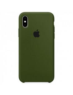 Чехол Silicone case (силикон кейс) iPhone X/XS Virid