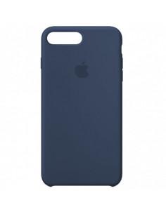 Чехол Silicone case (силикон кейс) iPhone 7 / 8 Plus Alaskan Blue