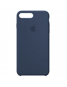 Чехол Silicone case (силикон кейс) iPhone 7/8 Plus Alaskan Blue