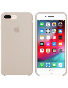 Чехол Silicone case (силикон кейс) iPhone 7/8 Plus Antique White
