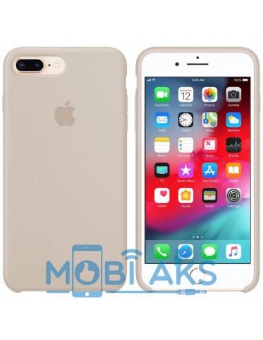 Чехол Silicone case (силикон кейс) iPhone 7 / 8 Plus Antique White