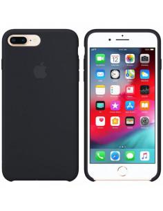 Чехол Silicone case (силикон кейс) iPhone 7/8 Plus Black