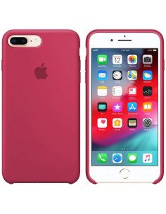 Чехол Silicone case (силикон кейс) iPhone 7/8 Plus Camelia