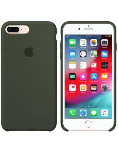 Чехол Silicone case (силикон кейс) iPhone 7/8 Plus Dark Olive
