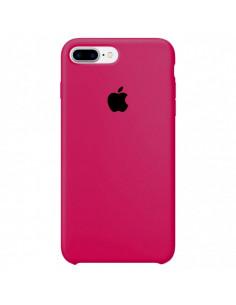 Чехол Silicone case (силикон кейс) iPhone 7/8 Plus Hot Pink