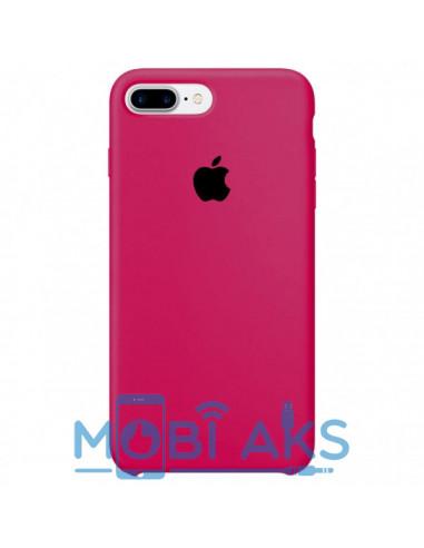 Чехол Silicone case (силикон кейс) iPhone 7 / 8 Plus Hot Pink