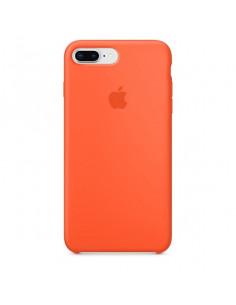 Чехол Silicone case (силикон кейс) iPhone 7/8 Plus Orange