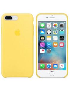 Чехол Silicone case (силикон кейс) iPhone 7/8 Plus Yellow